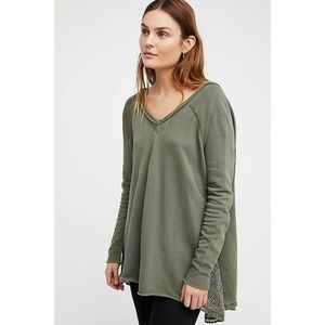 NEW Free People Pullover Sweatshirt X-SMALL